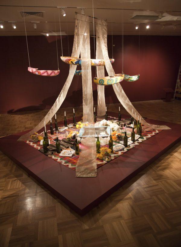 Altar by Cece Carpio for OMCA