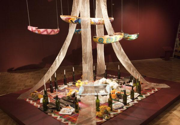 Altar (detail) by Cece Carpio for OMCA